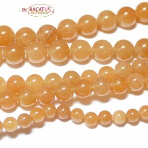 18 beads approx 12mm Pink Aventurine-Style Glass Bead